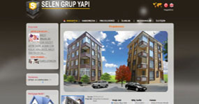 Selen Yapı - İST. web sitesi