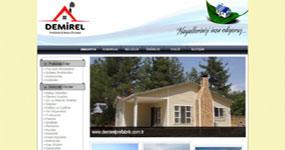 Demirel Prefabrik - İZMİR web sitesi