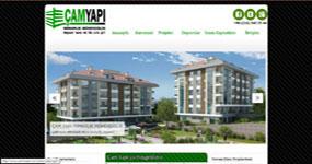 Çam Yapı - İST. web sitesi