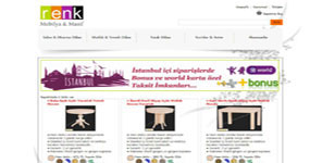 Renkli Mobilyalar - İST. web sitesi