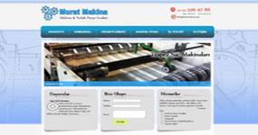 Murat Makina Sanayi - MMS Makine - İST. internet sitesi