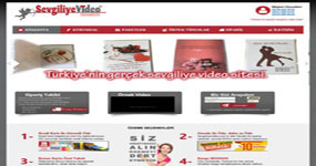 Sevgiliye Video / İSTANBUL internet sitesi