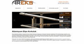 Alüminyum Elips Korkuluk / İSTANBUL internet sitesi
