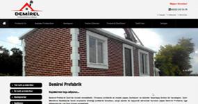 Demirel Prefabrik - İzmir internet sitesi