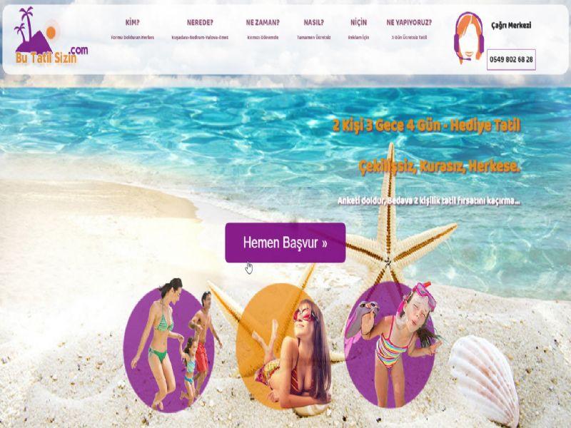 Bedava 3 Gün Tatil Fırsatı - BODRUM  internet sitesi