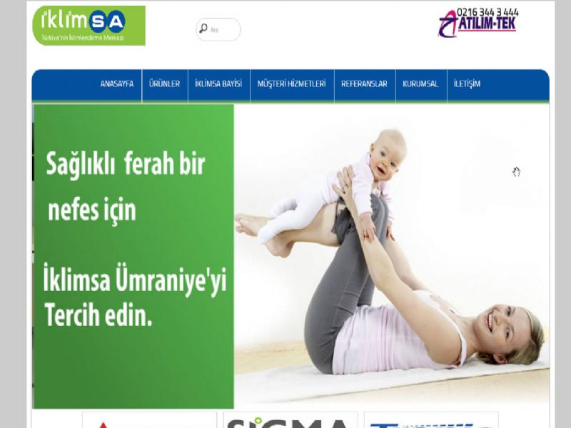Ümraniye İklimsa Yetkili Bayisi - İstanbul internet sitesi