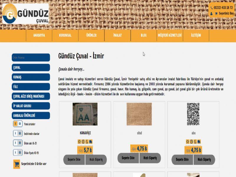 Gündüz Çuval - İzmir internet sitesi