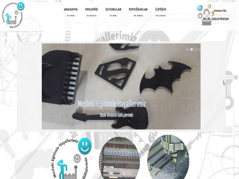 Mesleki Hayallerimiz Projesi - İZMİR internet sitesi