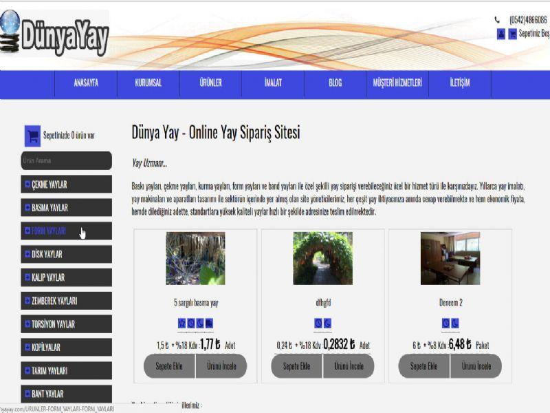 Dünya Yay -  İSTANBUL internet sitesi