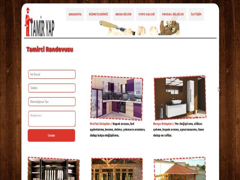 Tamir Yap - İstanbul internet sitesi
