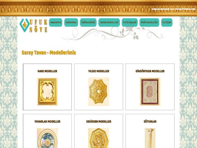 Saray Tavanı Ufuk Söve - İstanbul internet sitesi