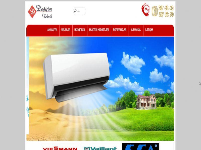 Değişim Teknik Klima Kombi - İstanbul internet sitesi