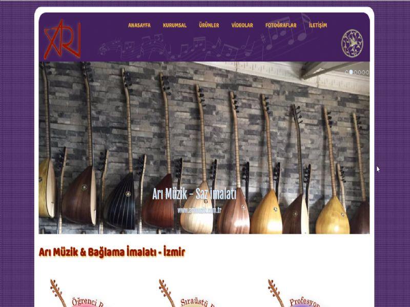 Arı Müzik Bağlama Saz - İzmir internet sitesi