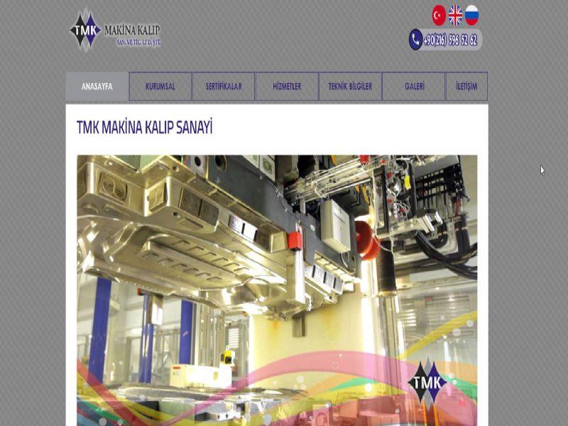 Tmk Makina Kalıp - İstanbul web sitesi