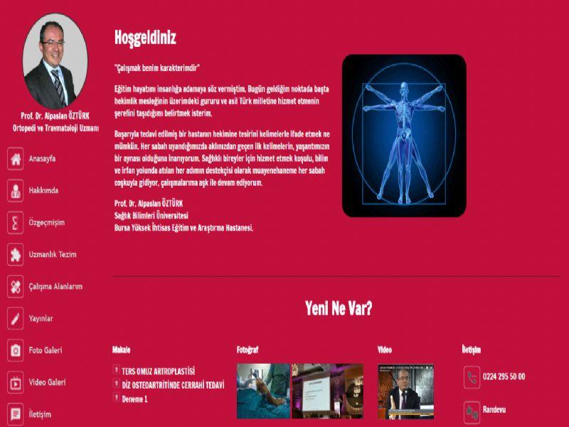 Prof. Dr. Alpaslan ÖZTÜRK - Bursa internet sitesi