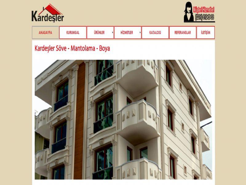 Kardeşler Yapı Söve - İstanbul internet sitesi
