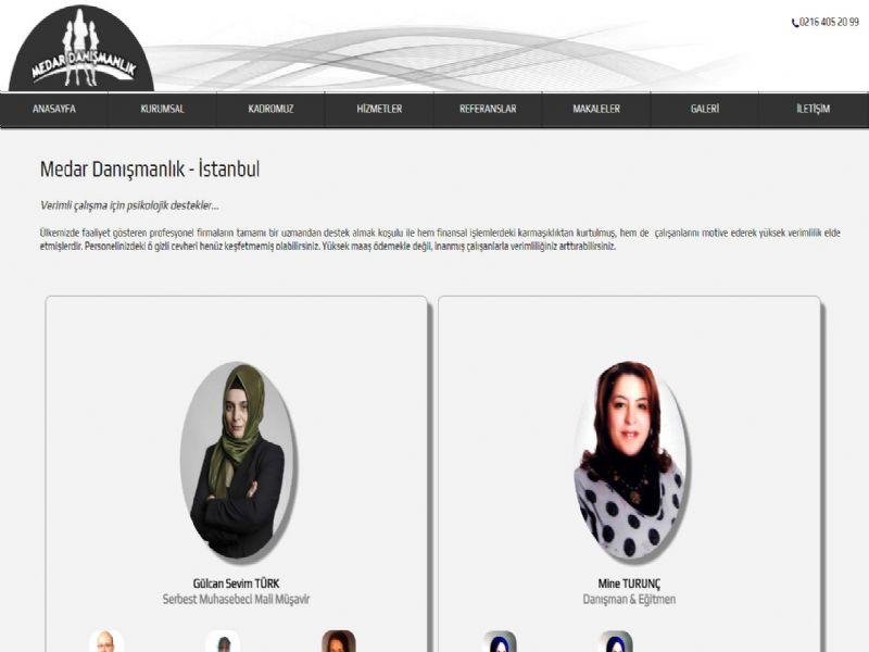 Medar Danışmanlık - İstanbul web sitesi