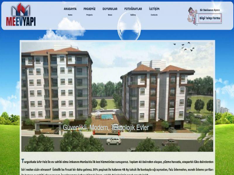 Meev Yapı Turgutlu - MANİSA web sitesi