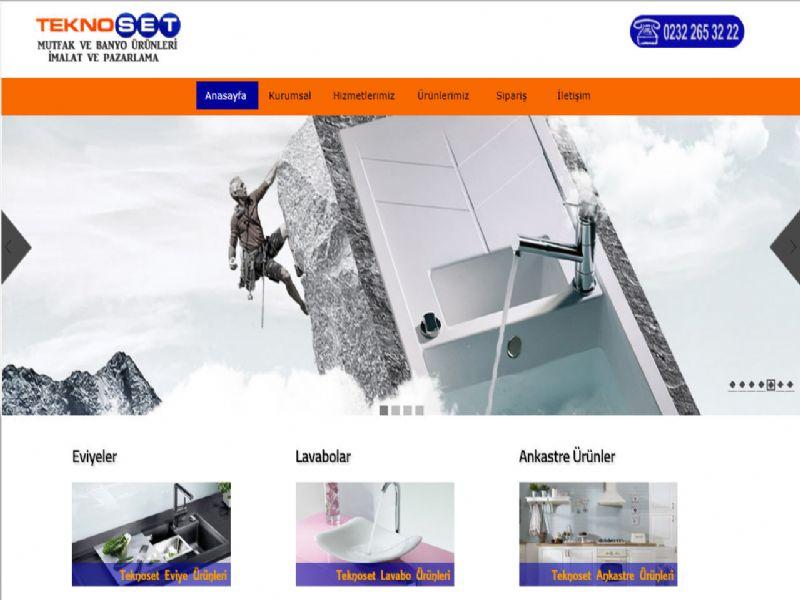 Teknoset Mutfak & Banyo - İzmir  internet sitesi