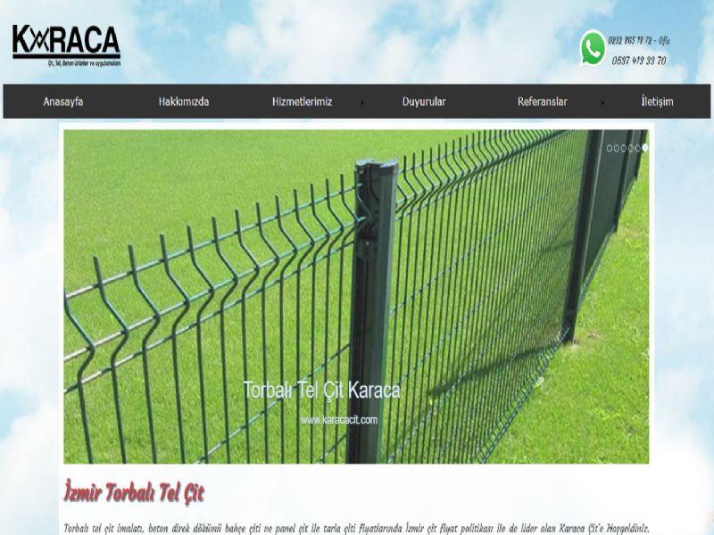 Karaca Torbalı Tel Çit - İzmir web sitesi