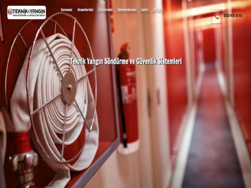 Teknik Yangın - İzmir web sitesi
