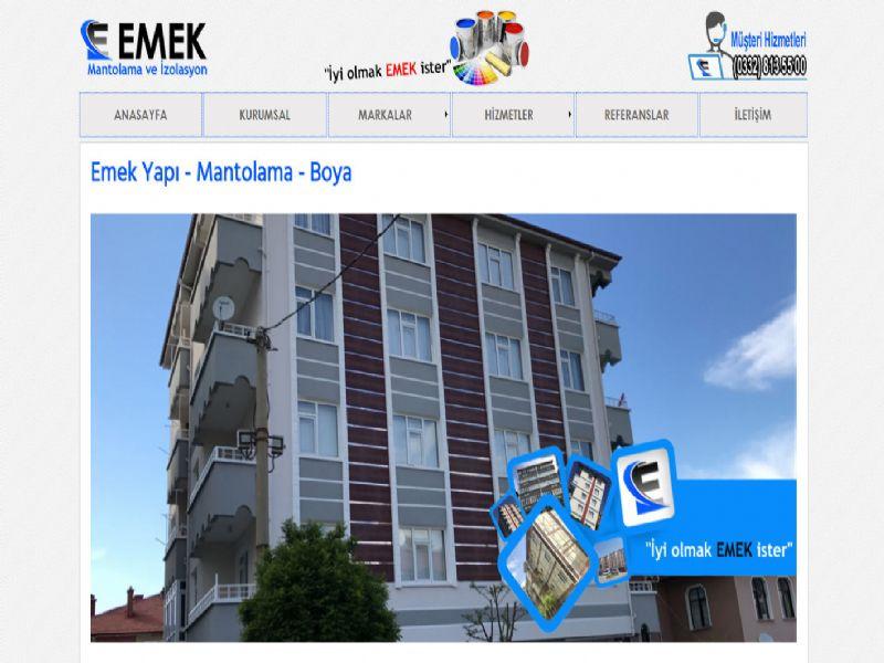 Emek Yapı Akşehir - Konya web sitesi