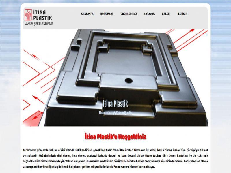 İtina Vakum Plastik - İstanbul web sitesi