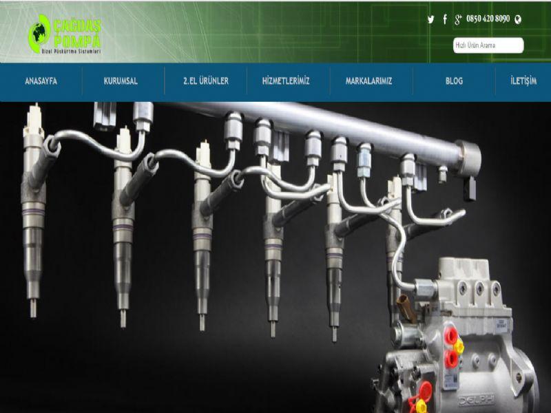 Çağdaş Dizel Pompa - İstanbul web sitesi