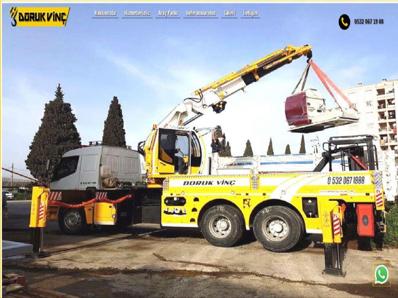 Doruk Vinç - İzmir web sitesi