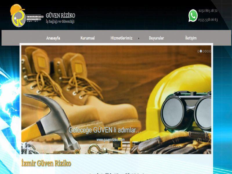 Güven Riziko Osgb - İzmir web sitesi
