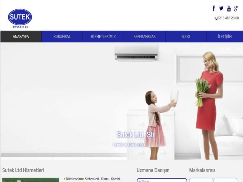 Sutek Ltd. - İstanbul web sitesi