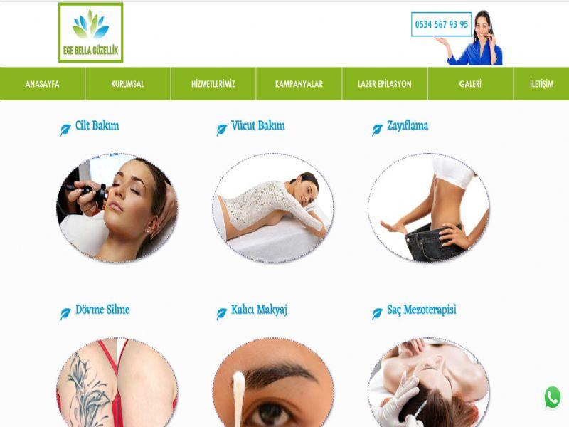 Ege Vella Güzellik Epilasyon - İzmir internet sitesi