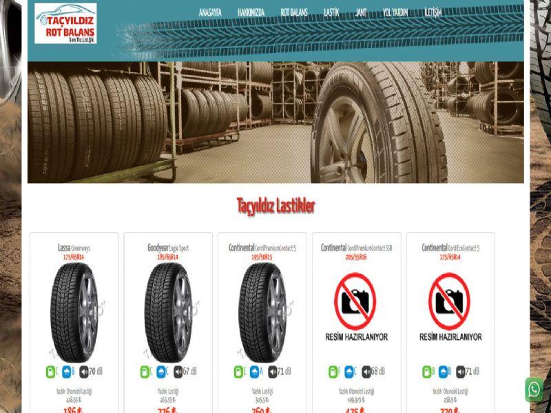 Taçyıldız Lastik Rot Balans - İzmir internet sitesi