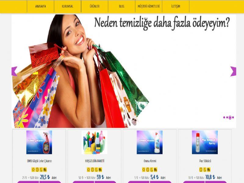 Temizlik Kapımda - İzmir internet sitesi