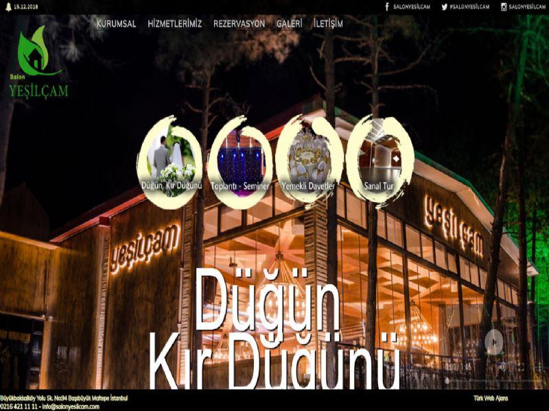 Salon Yeşilçam - İstanbul internet sitesi