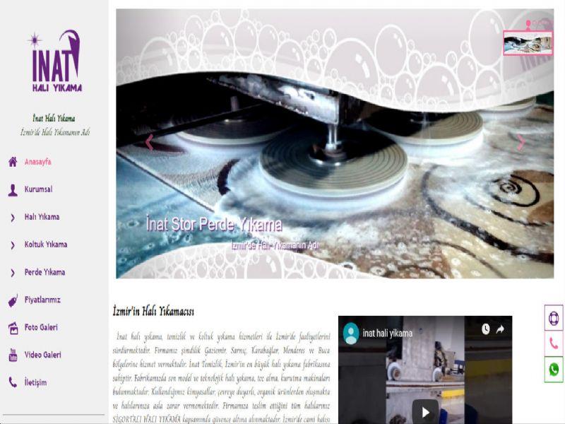 İnat Halı Yıkama - İzmir internet sitesi