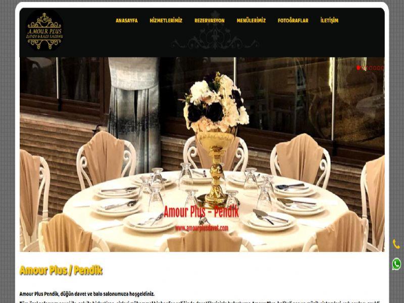 Amour Plus Davet - İstanbul internet sitesi