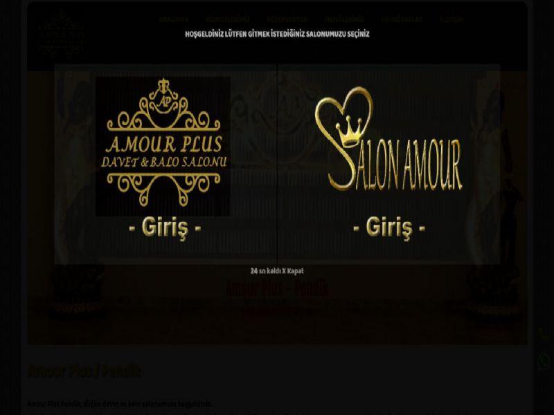 Salon Amour - İstanbul internet sitesi