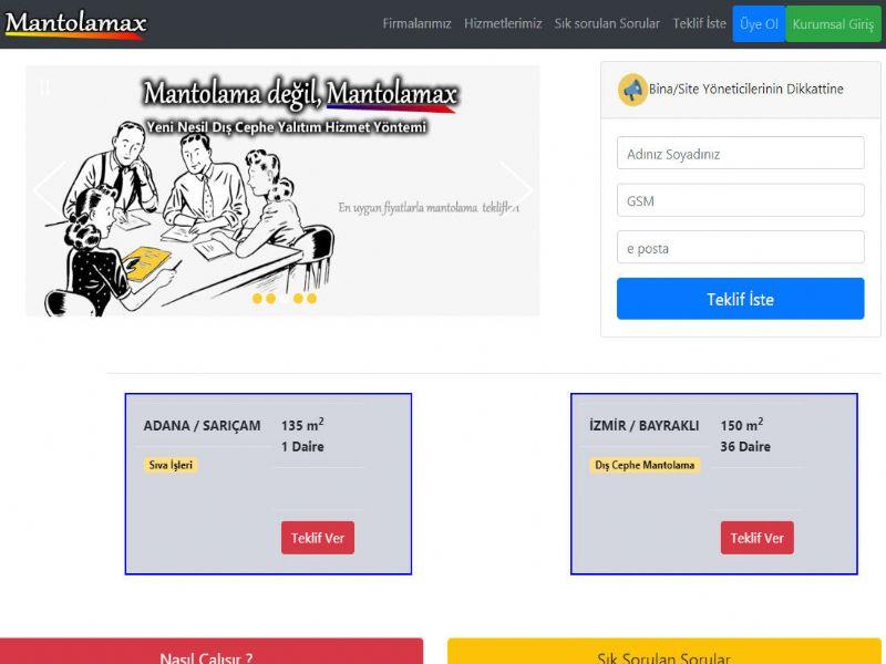 Mantolamax Senet - Stok - Ön Muhasebe internet sitesi