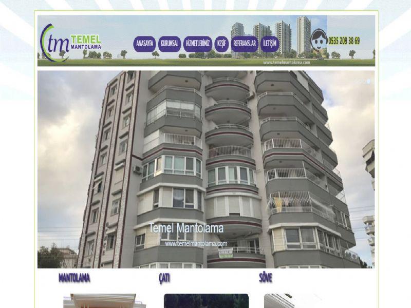 Temel Mantolama - İzmir internet sitesi