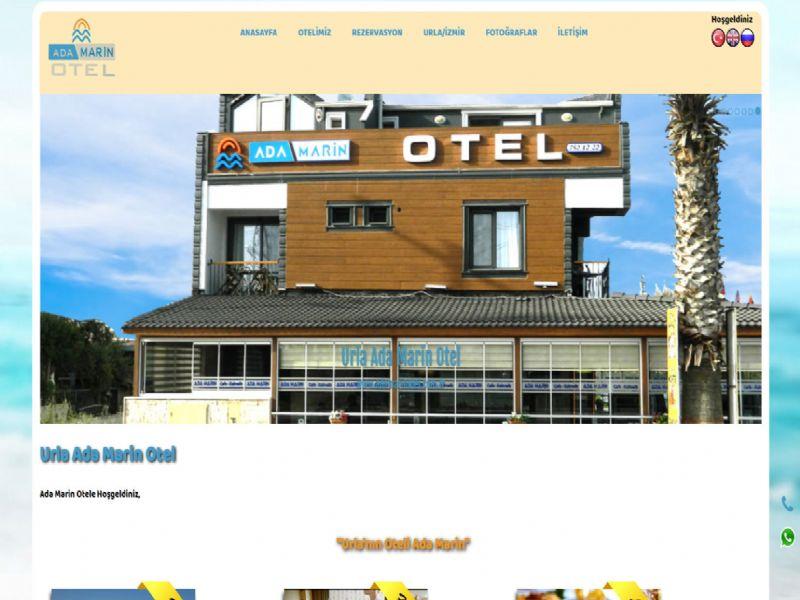 Urla Ada Marin Otel - İzmir internet sitesi