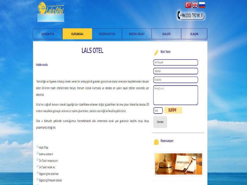 Urla Lals Otel - İzmir internet sitesi