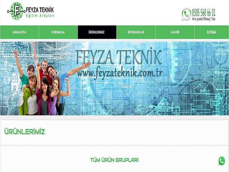 Feyza Teknik Eğitim Araçları - İzmir internet sitesi