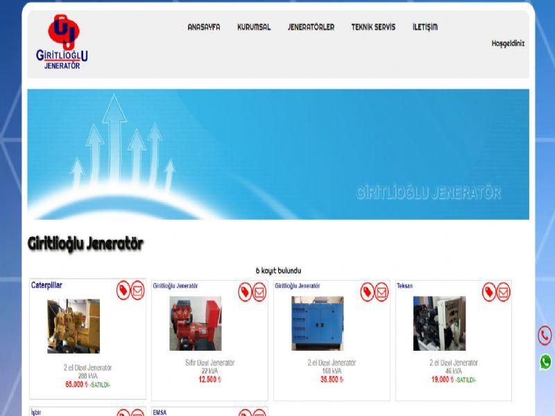 Giritlioğlu Dünya Jeneratör - İstanbul internet sitesi