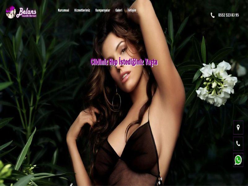 Belans Güzellik - İzmir internet sitesi