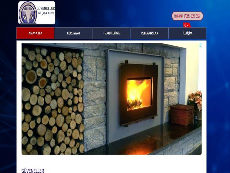 Güveneller Çit Prefabrik - İzmir internet sitesi