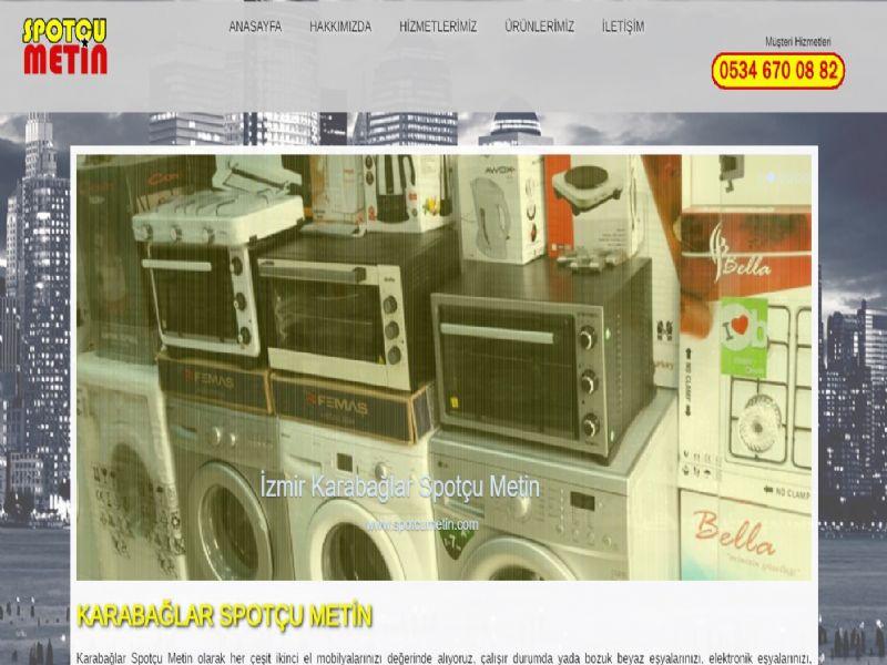 Karabağlar Spotçu Metin - İzmir internet sitesi