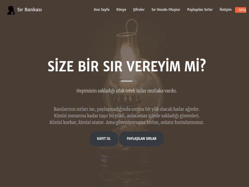 Sır Bankası / Kitap -Türkiye internet sitesi
