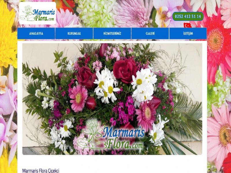 Marmaris Flora Çiçekçi - Muğla internet sitesi