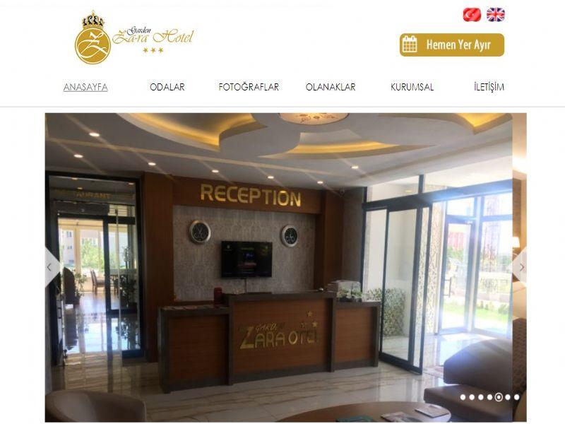 Sivas Zara Otel Garden Zara- Sivas internet sitesi
